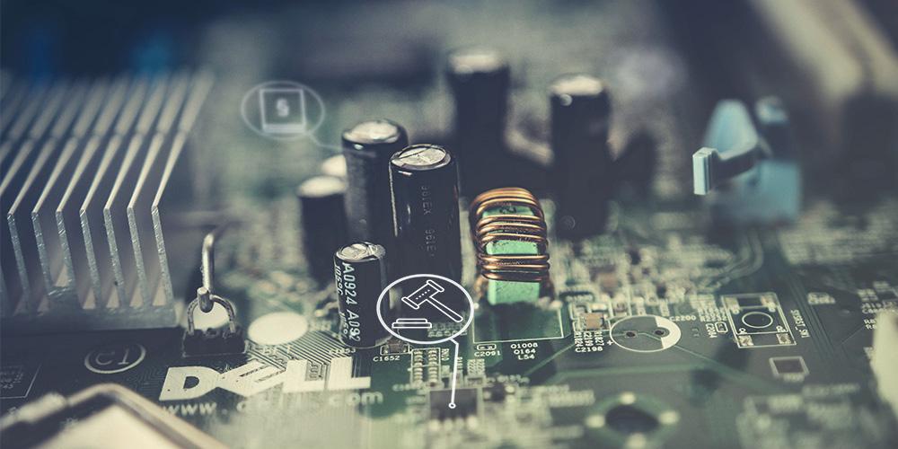 Dell Platine. Titelbild Expertise Regulatorik