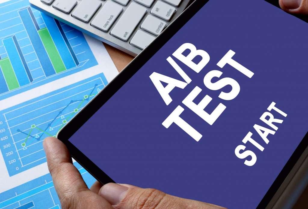 Antragsstrecke AB Testing
