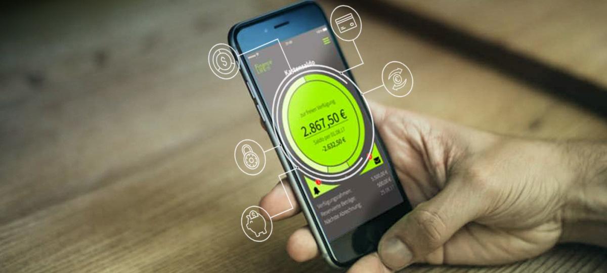 Baukastensystem für mobile Banking App