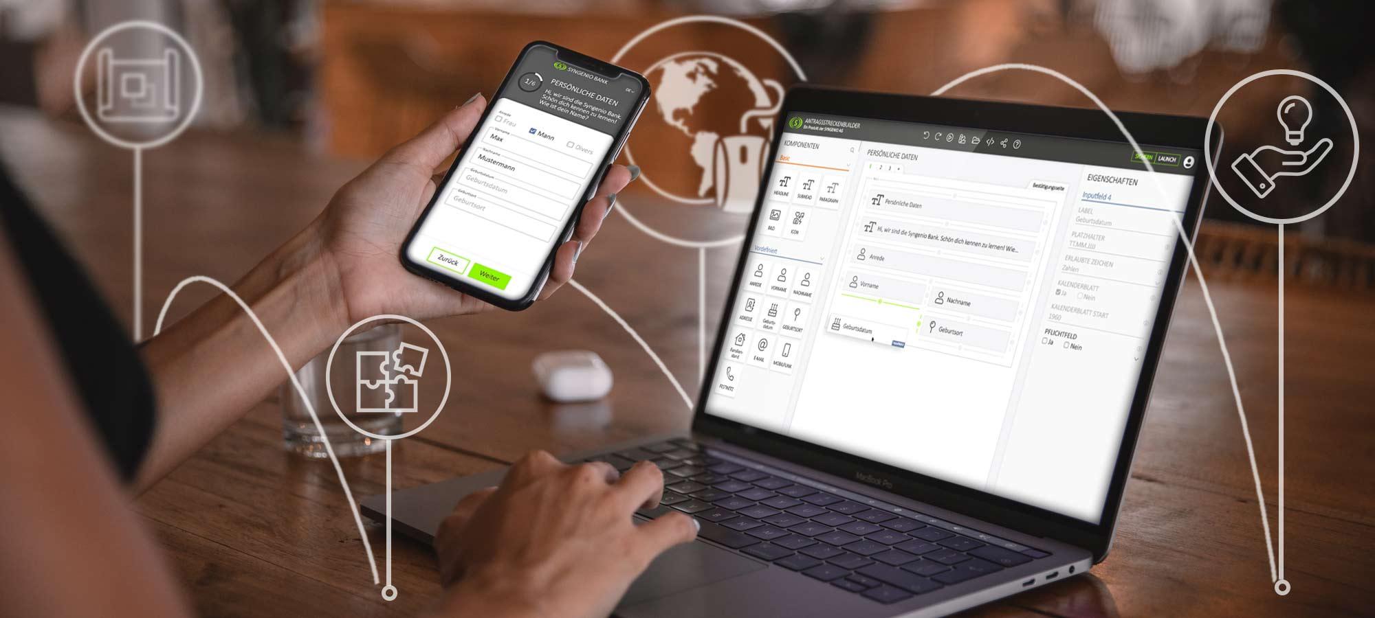 Digitale Antragsstrecke Software der Syngenio AG