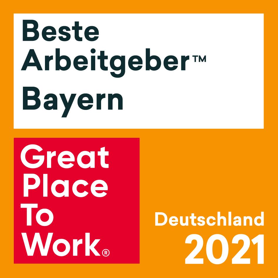 Beste Arbeitgeber Bayern 2021