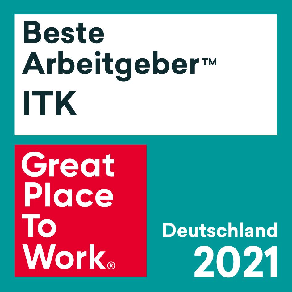 Beste Arbeitgeber ITK 2021